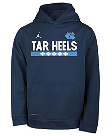 Nike North Carolina Tar Heels Therma Color Block Hoodie, Big Boys (8-20)