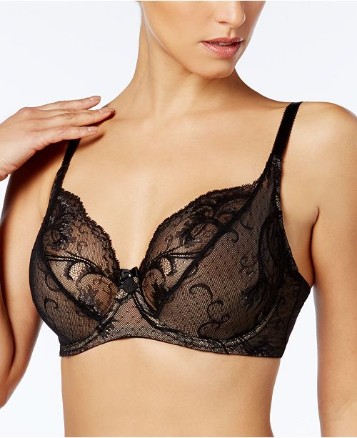 4301e7521485a Wacoal Distinguished Elegance Trellis-Lace Bra 855264   Reviews ...