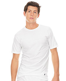 Polo Ralph Lauren Mens Big & Tall 2-Pack Classic Cotton Crew Undershirt
