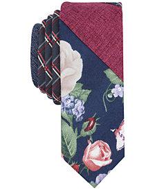 Original Penguin Men's Pieced Panel Skinny Tie