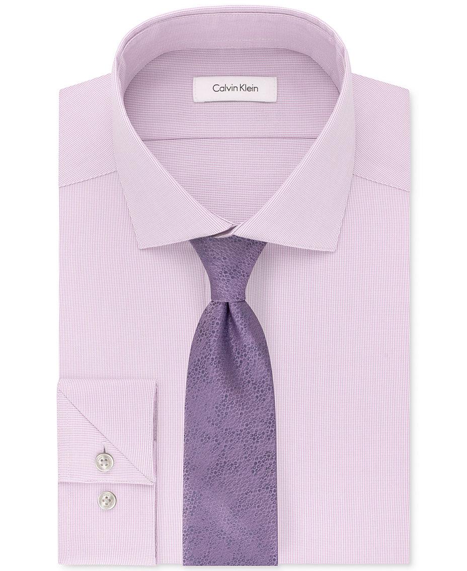 Calvin Klein Tan Beige Sale Mens Clothing 2018 Macys Microfiber Steel Brief Original Performance Unsolid Dress Shirt Layered Daisy Tie
