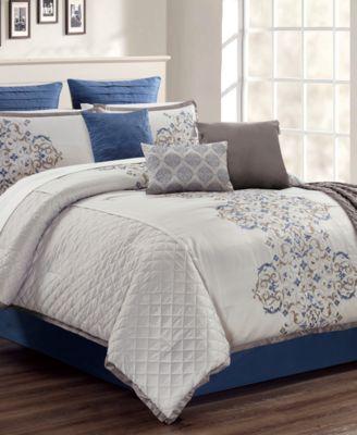 Pieran 14-Pc. Queen Comforter Set