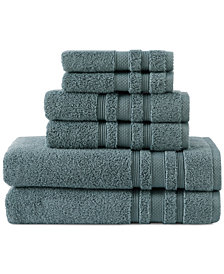"CLOSEOUT! Charisma Luxe 15"" x 15"" Cotton Wash Towel"