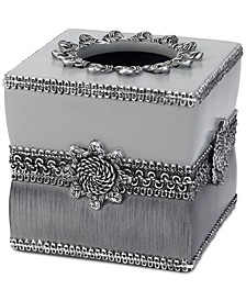 Braided Medallion Granite Tissue Cover