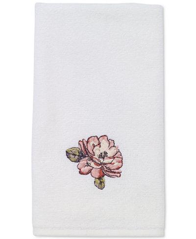 Avanti Butterfly Garden Fingertip Towel