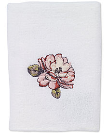 Avanti Butterfly Garden Washcloth