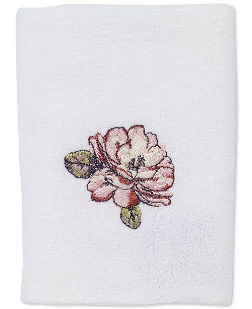 Avanti Butterfly Garden Washcloth