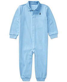 Ralph Lauren Baby Boys Classic Polo Coverall