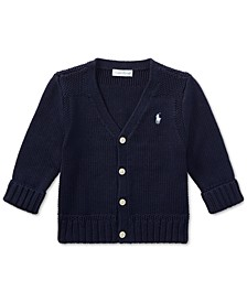 폴로 랄프로렌 남아용 스웨터 Polo Ralph Lauren Ralph Lauren Baby Boys Cotton Cardigan Sweater,French Navy