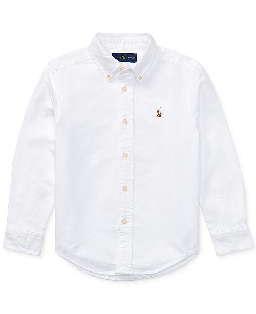 Polo Ralph Lauren Little Boys Blake Oxford Shirt