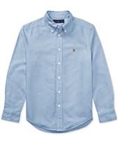 413117130f7f7 Polo Ralph Lauren Big Boys Blake Oxford Shirt