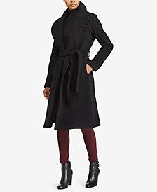 Lauren Ralph Lauren Petite Wrap Coat