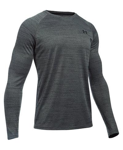Under Armour Men's UA Tech Heathered Long-Sleeve T-Shirt