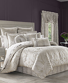 J Queen New York Le Blanc 4-Pc. Queen Comforter Set