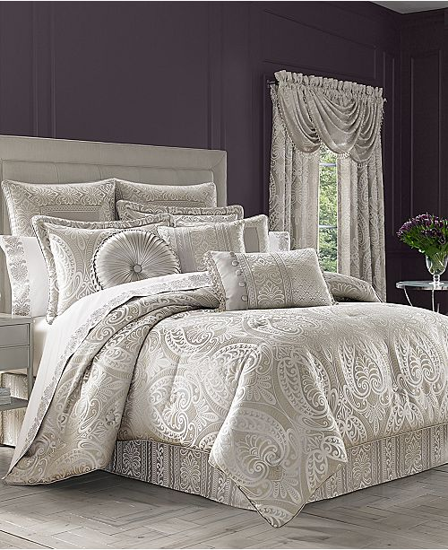 J Queen New York Le Blanc Bedding Collection