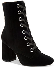 BCBGeneration Alexa Block-Heel Booties