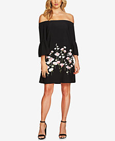 CeCe Off-The-Shoulder Shift Dress