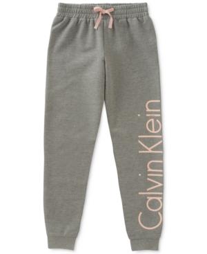Calvin Klein Logo Sweatpants Big Girls (716)