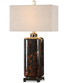 Uttermost Vanoise Mercury Glass Lamp