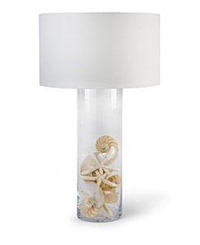 Regina Andrew Design Glass Cylinder Table Lamp