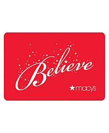 Believe E-Gift Card