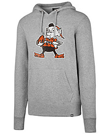 '47 Brand Men's Cleveland Browns Retro Knockaround Hoodie