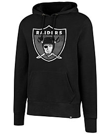 '47 Brand Men's Oakland Raiders Retro Knockaround Hoodie