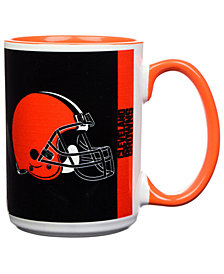 Cleveland Browns 15oz Super Fan Inner Color Mug