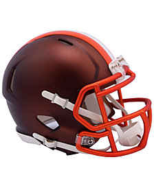 Riddell Cleveland Browns Speed Blaze Alternate Mini Helmet