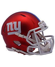 Riddell New York Giants Speed Blaze Alternate Mini Helmet
