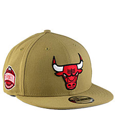 New Era Chicago Bulls Tan Top 9FIFTY Snapback Cap