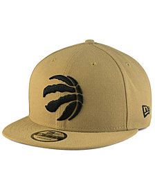 New Era Toronto Raptors Tan Top 9FIFTY Snapback Cap