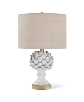 Attractive Regina Andrew Design Leafy Artichoke Table Lamp