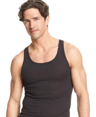 Tagless White Crew Neck Undershirt 8 Pack Alfani Mens Underwear