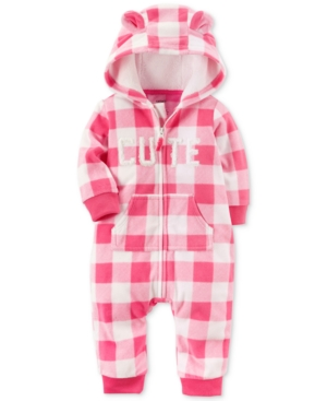 Carter's Hooded Plaid...