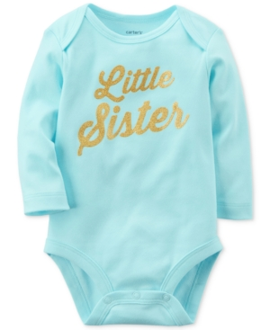Carters Little Sister Cotton Bodysuit Baby Girls (024 months)