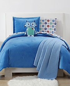 My World Reversible Velvet Plush Full/Queen Comforter