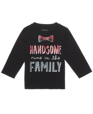 First Impressions HandsomePrint Cotton TShirt Baby Boys (024 months) Created for Macys
