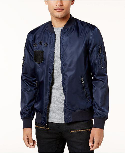 d218a84151834 GUESS. Men s Nylon Patch Jacket. 2 reviews. main image  main image ...