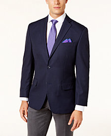 Michael Kors Men's Classic-Fit Blue Check Sport Coat