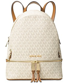 MICHAEL Michael Kors Signature Rhea Zip Medium Backpack