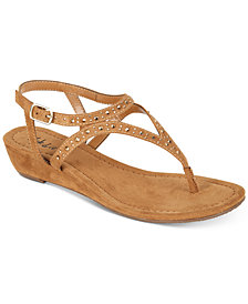 Style & Co Hareet Wedge Sandals, Created for Macy's