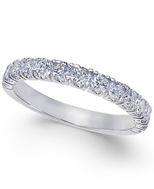 Pave Diamond Band Ring in 14k Gold or White Gold (3/4 ct. t.w.)