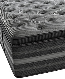 Beautyrest Black Lillian Luxury Firm Pillow Top Mattress- Full
