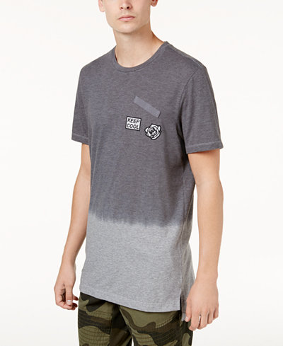 American Rag Men's Ombre Patch T-Shirt, Created for Macy's