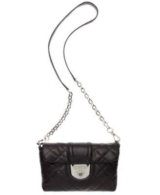 Calvin Klein Chelsea Quilted Lamb Crossbody Bag - Handbags ... : calvin klein quilted purse - Adamdwight.com
