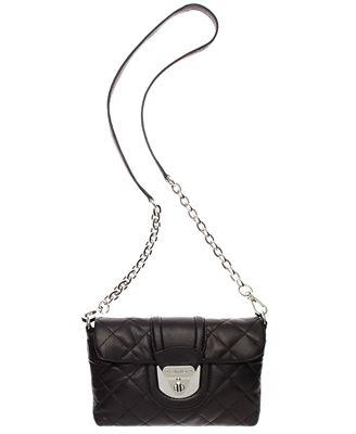 Calvin Klein Chelsea Quilted Lamb Crossbody Bag - Handbags ... : calvin klein quilted leather crossbody bag - Adamdwight.com