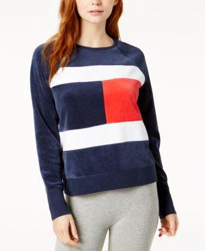 Tommy Hilfiger Logo Sweatshirt, $49.0