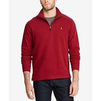Polo Ralph Lauren Mens Estate-Rib Mock-Neck Pullover (Multi Colors)