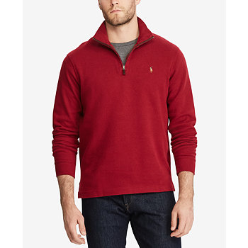 Polo Ralph Lauren Mens Mock-Neck Pullover